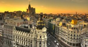 Madrid, de hoofdstad van Spanje
