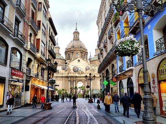 Zaragoza uitgaan